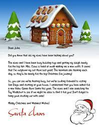 10 best letters from santa images on pinterest letter from santa