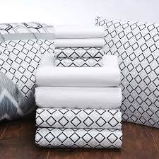 Extra Long Twin Bed Set by White Sheets And Black Lennox Comforter Find This Cute Sheet Set