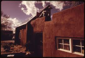 file an adobe house in santa fe new mexico converted to solar