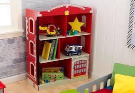 Levels Of Discovery Bookcase Kidkraft Firefighter Firehouse 38 U0026 Reviews Wayfair
