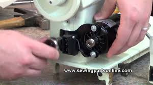 how to replace a sewing machine motor youtube