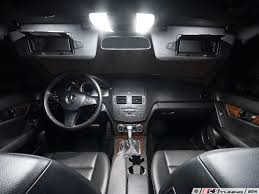 Interior Lighting For Cars Ecs News Ziza Performance Lighting For Your Mercedes Benz W204