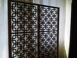 decorating silver standing room divider screens for home