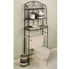 bathroom bathroom etagere over toilet bath etagere espresso