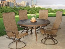 Swivel Patio Chair Outdoor Swivel Rockers Patio Furniture Doherty House Best