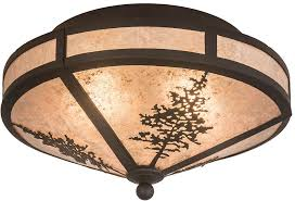 bronze and silver light fixtures meyda tiffany 172117 tamarack rustic oil rubbed bronze silver mica