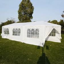 tent party benefitusa wedding party tent outdoor cing 10 x30