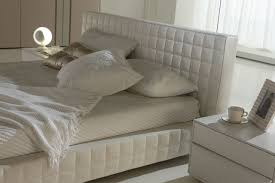 Rossetto Bedroom Furniture Alix White Leather Platform Bed By Rossetto 2 Sizes Available