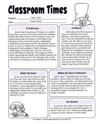 8 best images of printable preschool newsletters free preschool