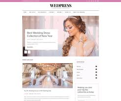 Wedding Magazine Template Wedpress Groom U0026 Bridal Magazine Website Template