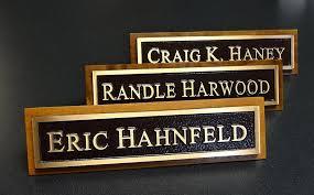 bronze name plates custom manufacturer fort worth texas for custom