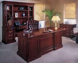 Executive Office Furniture Exquisite Genuine Wood Detailing