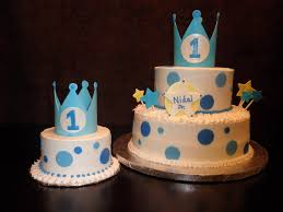 Cake Design For Baby Boy First Birthday