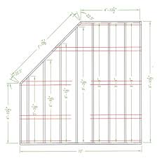 amish house floor plans amish wood colonial five corner shed