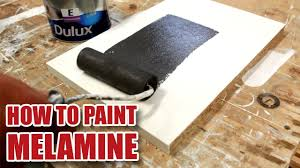 can you use chalk paint on melamine kitchen cabinets how do i paint melamine diy tips