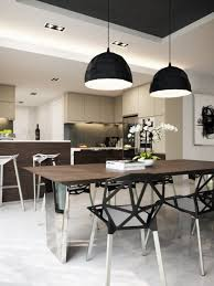 Lighting For Dining Room 24 Fashionable Geometric Décor Ideas For Your Dining Space Digsdigs