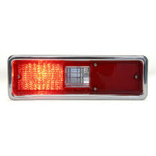 dakota digital led tail lights 1970 1972 chevy nova led tail lights dakota digital lat nr150