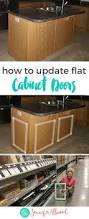 Kitchen Cabinet Makeover Ideas How To Add Dimension To Flat Cabinet Doors A Cabinet Makeover Idea