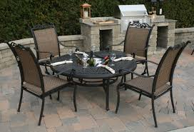 Iron Patio Furniture Set - patio patio cover construction commercial patio tables 5 piece