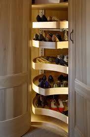 Corner Bedroom Furniture Units by A Shoe Carousel In A Corner Unit In A Walk In Wardrobe Perfect
