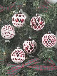 free crochet thread ornament patterns squareone for