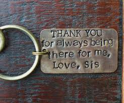 key chain for brother gift for brother brother of the bride