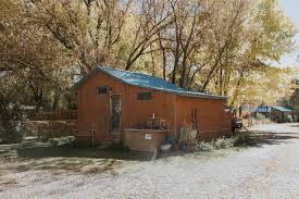 chameleon rustic cabin camping
