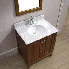30 Bathroom Vanity by Art Bathe Lily 30 Classic Cherry Bathroom Vanity Marble