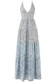 rent the runway prom dresses blue melina lace maxi by dress the population for 40 rent the