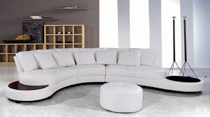 sofa graceful modern leather sectional sofas decoration white