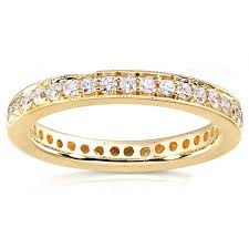 gold diamond wedding band antique design diamond wedding band for women in gold jeenjewels