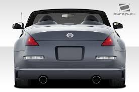 nissan 350z back bumper free shipping on duraflex 03 08 nissan 350z j spec body kit