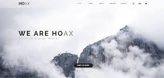 free muse template hoax premium creative multipurpose muse template