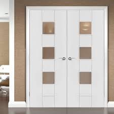 Interior Glazed Doors White by Internal Glazed Double Doors Examples Ideas U0026 Pictures Megarct