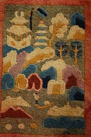 Nichols Chinese Rugs Art Deco Rugs Ebay Authentic Tufenkian Tibetan Hand Knotted Area