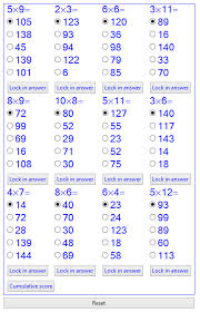 multiplication blank multiplication chart 1 10 free math