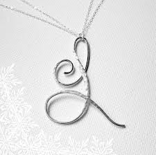 the 25 best letter necklace ideas on pinterest initial jewelry