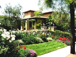simple house front garden ideas image yard landscaping for