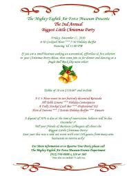 christmas letter invitation template business template