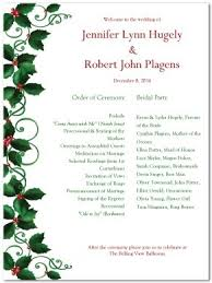 Sample Program Format For Christmas Party