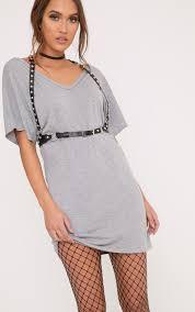jersey dresses casual u0026 evening dress prettylittlething