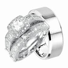 matching wedding bands his and hers wedding best wedding rings walmart his and hers new beautiful