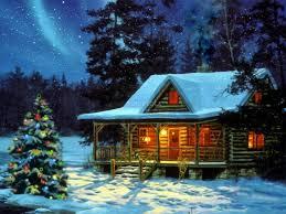 winter snow night houses fantasy id 103859 u2013 buzzerg