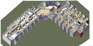3d Office Floor Plan Allegiance Health Medical Suites Jackson Michigan U2013 Monahan