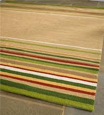 Yellow Striped Rug Lake House Indoor Outdoor Stripe Rug 8 U0027 X 10 U0027 Collection
