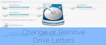how to remove and assign drive letters in windows with diskpart