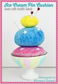 Cuddle Cushion I Scream You Scream For Cuddle Ice Cream U2013 Sewciety U2013 My Cuddle Corner