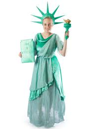 Lady Liberty Halloween Costume Statue Liberty Costume Creative Costumes