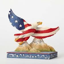 Bald Eagle On Flag Patriotic Flag Eagle U2013 Jim Shore
