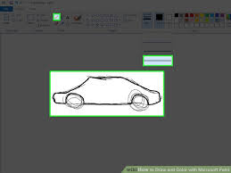 3 ways to draw and color with microsoft paint wikihow